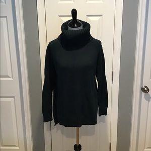 Loft Dark Teal Turtleneck Sweater